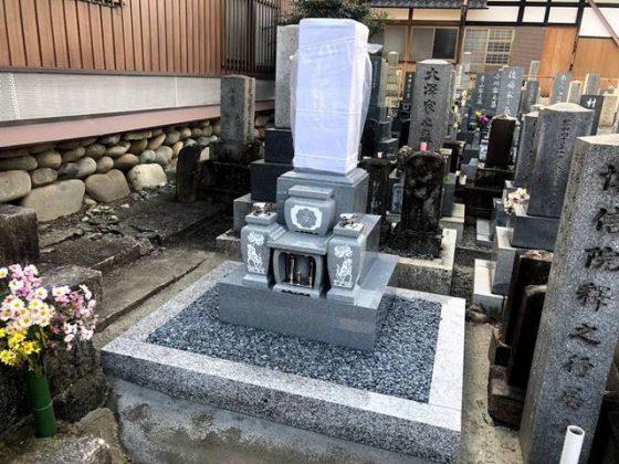 愛知県犬山市 本龍寺 宮島様 お墓の建て替え
